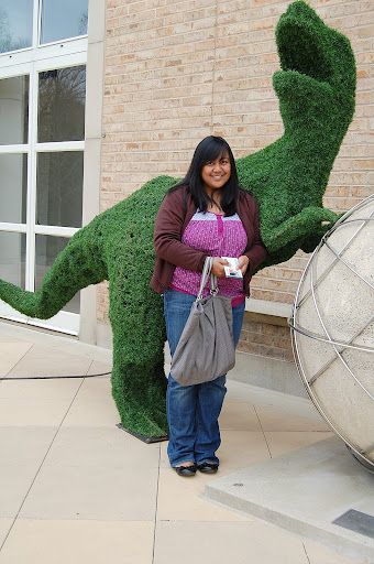 This bush is just too cute! T-Rex style!