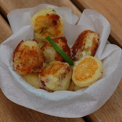 Cheesy Mashed Potato Puffs