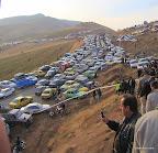 ترافیک شدید پایان مسابقه