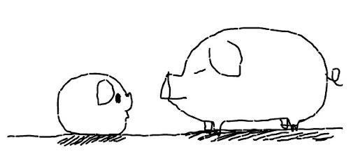 大豬與小豬的對話