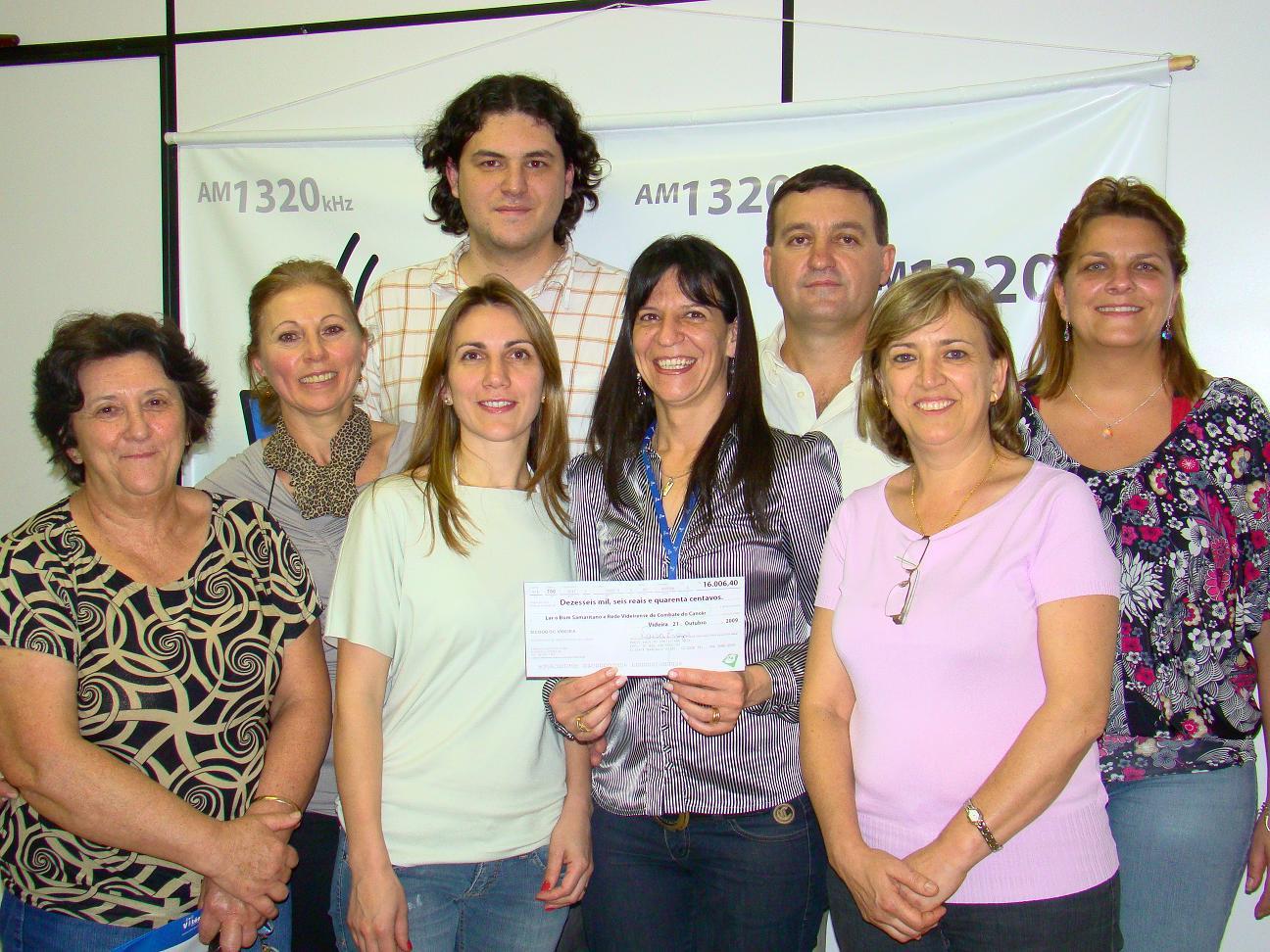 Grupo Carboni apoia 2º Bingao da Soliedariedade para beneficiar Rede de Combate ao Câncer e Lar Bom Samaritano Repasse%20recursos%20Bing%C3%A3o%20da%20solidariedade