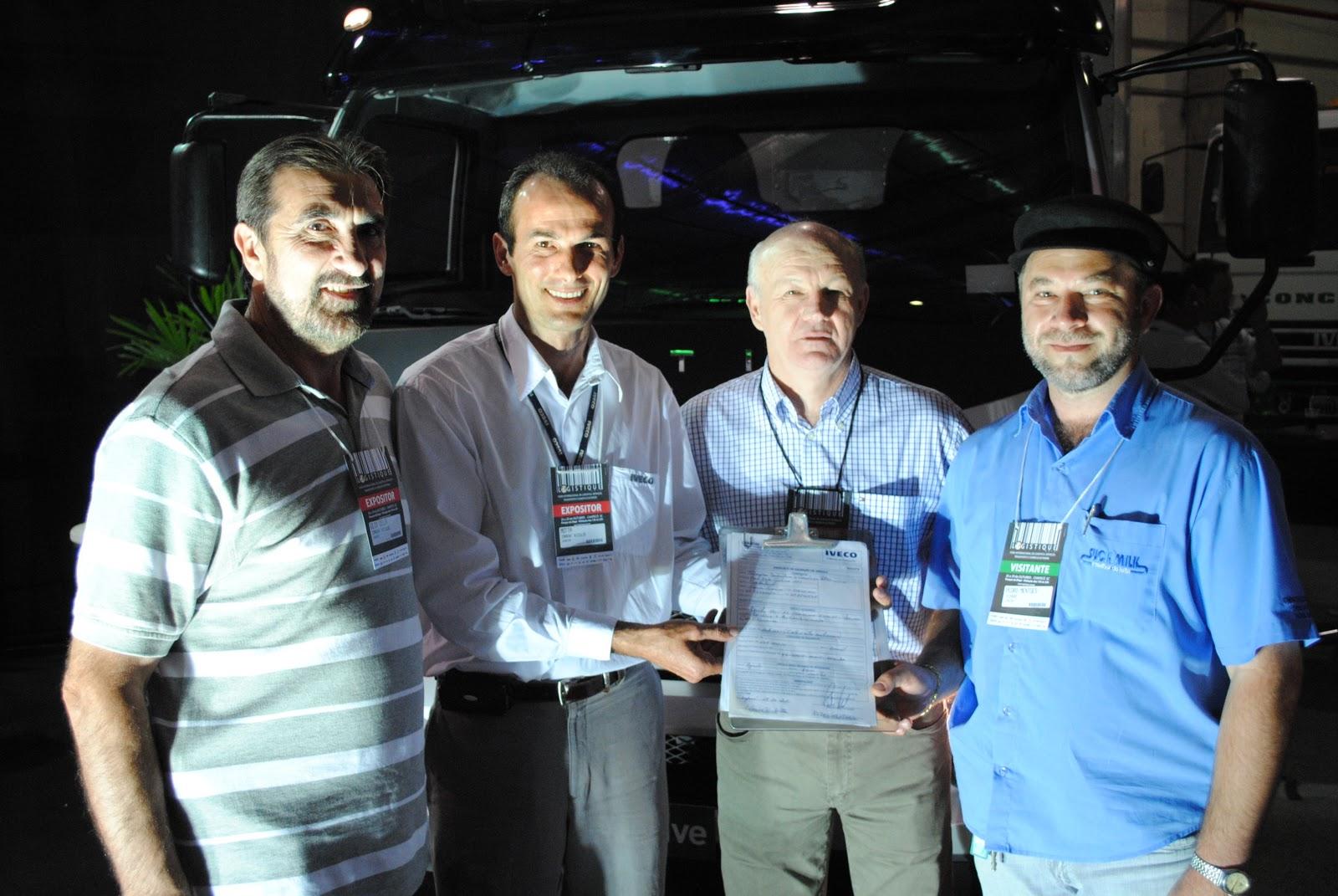 LOGISTIQUE - Feira gera visibilidade e alavanca negócios para a Carboni Iveco DSC 1347