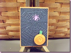 Tange's Spider with Pumpkin