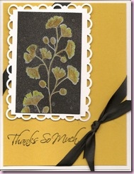 Kind & Caring Black Magic gingko