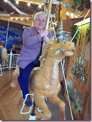 Kathy on Unicorn