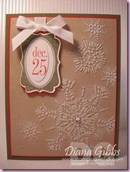 Diana's 2010 card