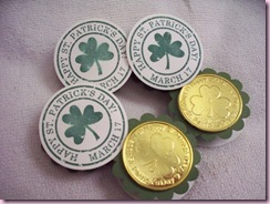 Lucky Shamrock favors