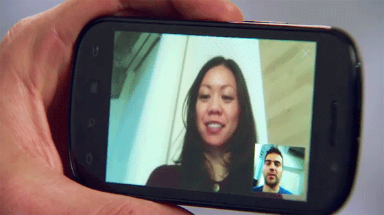 google talk with video android