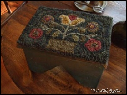 oldcolonyprimitives_hookedflowerbasketstool_