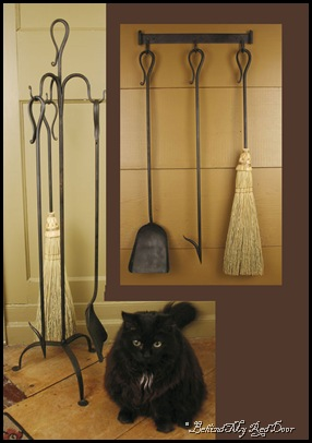 fireplace tools - circa