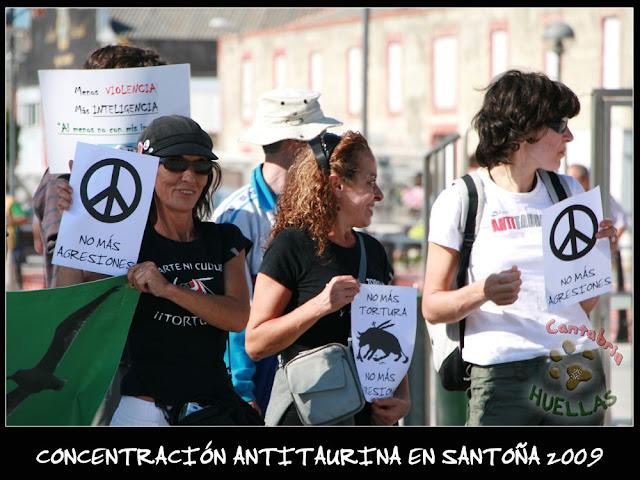 Concentración Antitaurina en Santoña-Vuelta a la normalidad 06
