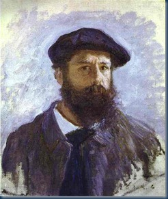 Claude Monet retrato