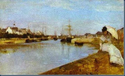 El puerto de Lorient 1869
