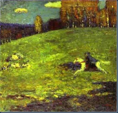 El jinete azul Kandinsky 1903