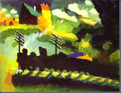 Marnau Kandinsky 1909