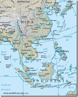 South China Sea-reference map-US CIA