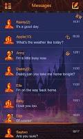 Screenshot of GO SMS PRO SORCERY THEME