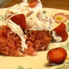 Striking Strawberry Cake