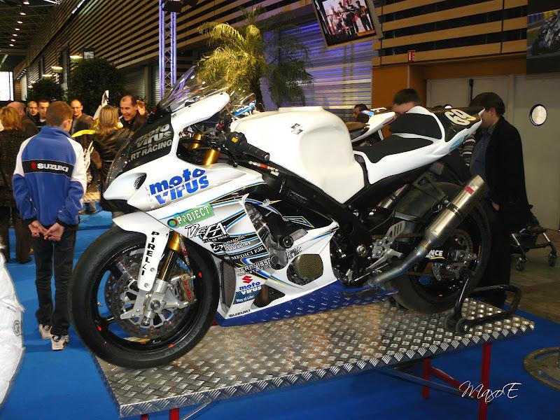 GSXR1000 officielle du RT Racing Team moto Virus