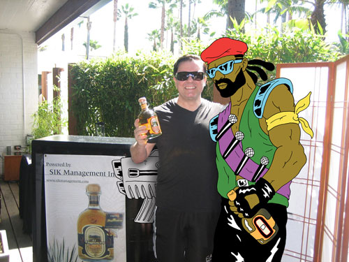 Ricky Gervais & Major Lazer