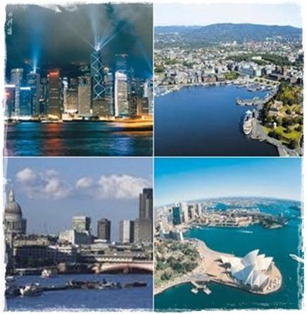 9 städer