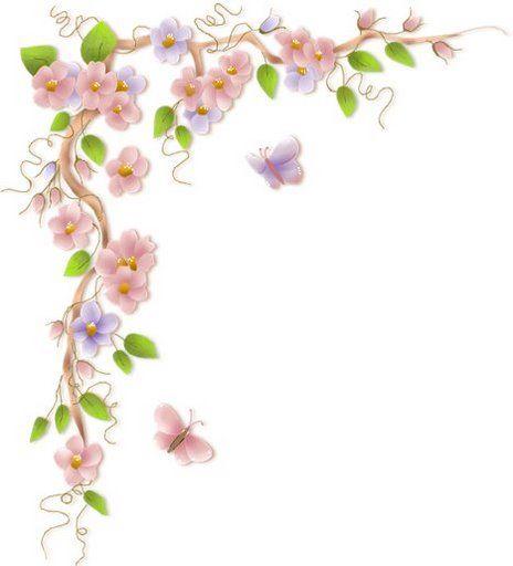 Imagenes De Flores Esquinas Gratis  Imagui