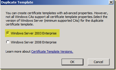 Thoughts on azure oms scom enterprise ca how to create a scom select certificate templates in the console click with right mouse button on ipsec offline request and select duplicate template yelopaper Image collections