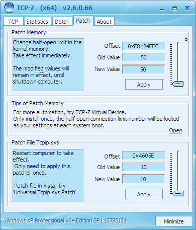 windows patch TCP-Z