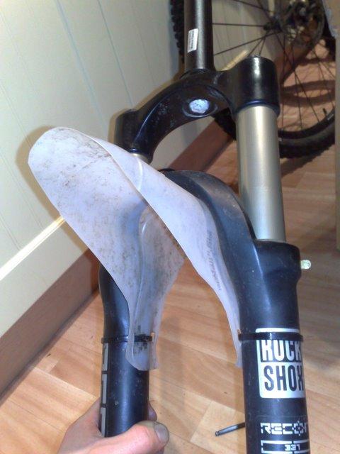 Amazing! I want one! DIY front fender! – Singletrack Magazine