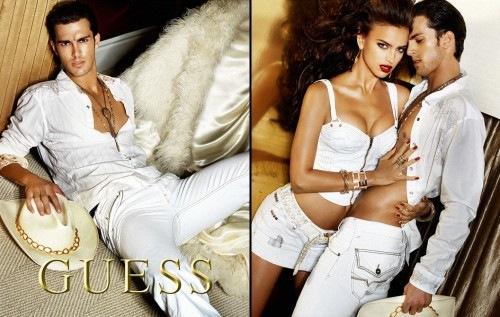 Irina Shayk Guess Jeans Irina Shayk in The Guess