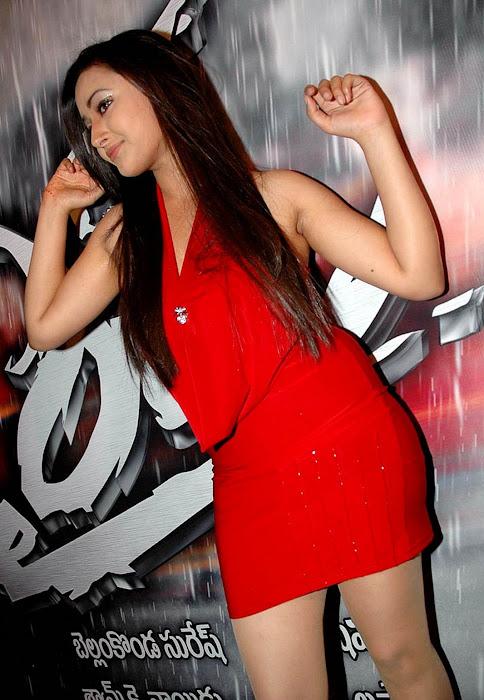 sha shha basu prasad in micro mini red skirt at inaugural function worth eye catching actress pics