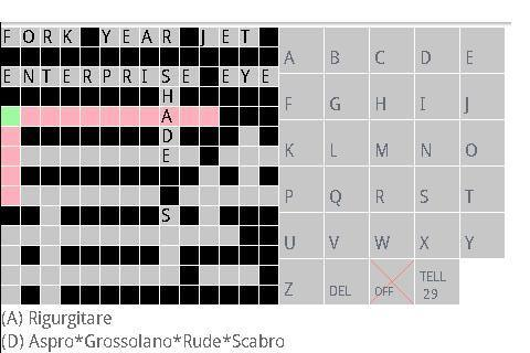 Italian Eng Crosswords Lite