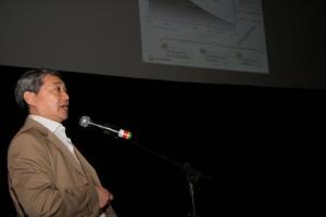 O gerente de planejamento de Exploração e Produção do pré-sal da Petrobrás, Mauro Yuji Hayashi ministrou palestra de abertura