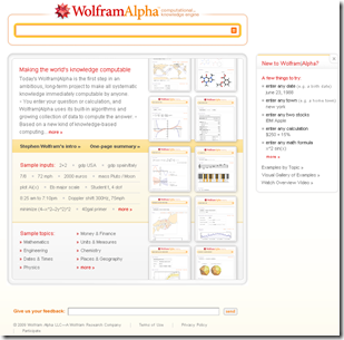 walfram interface