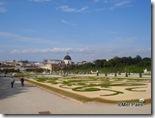 Belvedere, jardim em estilo francês