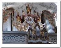 Órgão tocado por Mozart