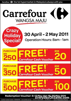 Carrefour-Wangsa-Maju-Crazy-Holiday-Special-2011-EverydayOnSales-Warehouse-Sale-Promotion-Deal-Discount