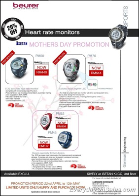 Beurer-Heart-Rate-Monitor-Mothers-Day-2011-EverydayOnSales-Warehouse-Sale-Promotion-Deal-Discount