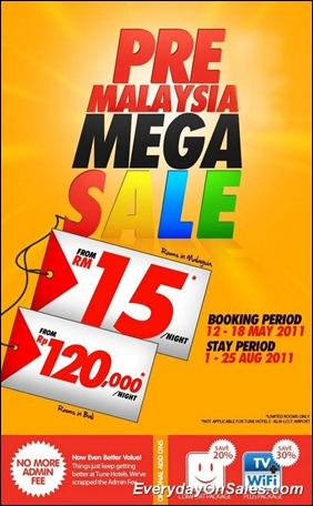 Tune-Hotels-Pre-Mega-Malaysia-Mega-Sale-2011-EverydayOnSales-Warehouse-Sale-Promotion-Deal-Discount