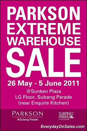 Parkson-Extreme-Warehouse-Sale-2011-EverydayOnSales-Warehouse-Sale-Promotion-Deal-Discount