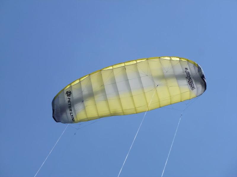 Dört ipli foil uçurtma - güç uçurtması (power kite)