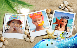 Screenshot of Summer Photo Frames