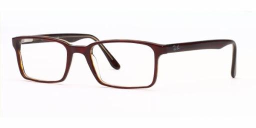 Óculos RX5037 Ray Ban Vinho