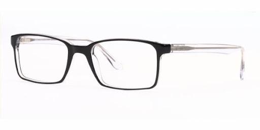 Óculos RX5037 Ray Ban Preto com Transparente
