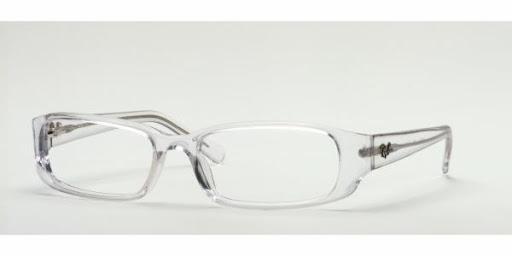 Óculos RX5063 Ray Ban Transparente