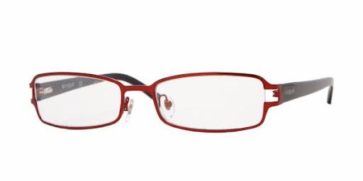 Óculos VO3613 Vogue Vermelho