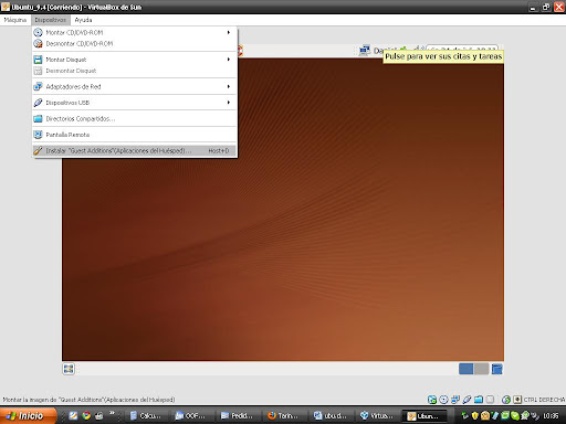 Como Instalar VirtualBox Guest Additions en Ubuntu virtualiz