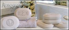 monogram soaps