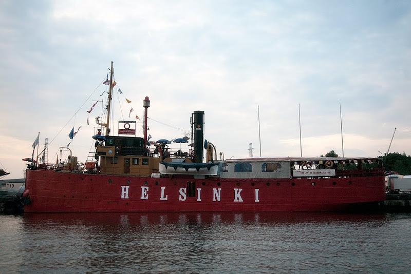 kameravene.fi shipspotting: s/s Hyöky (majakkalaiva / lighthouse ship Helsinki), Kantasatama, Kotka