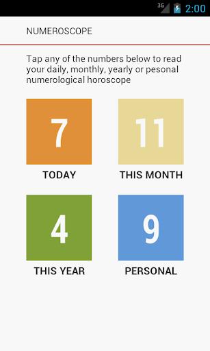 Numeroscope - Daily Horoscope